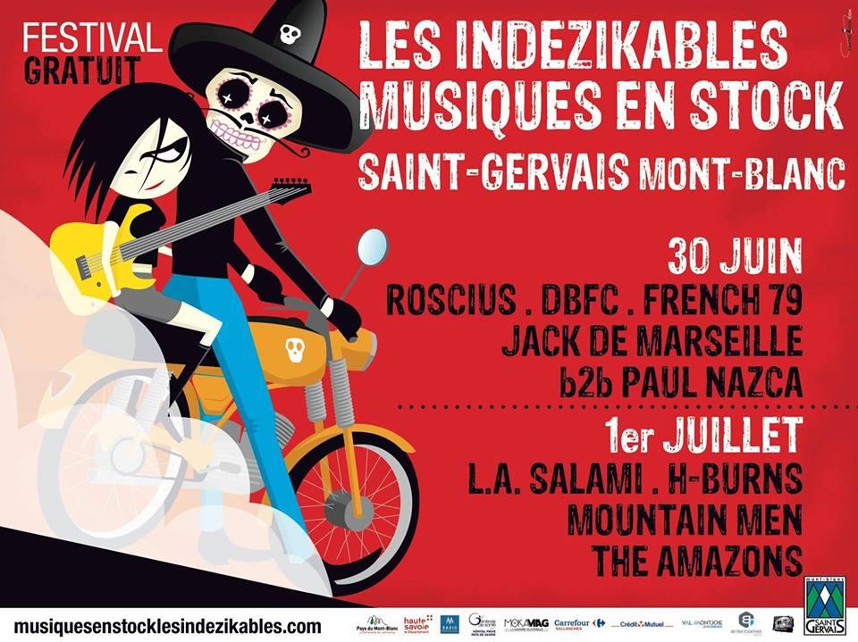 Musiques en stock - Saint Gervais - HAUTE SAVOIE, festival rock gratuit pour les ados et adultes