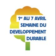 Semaine du developpement durable